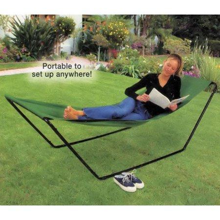 - Portable Foldaway Yard Hammock -