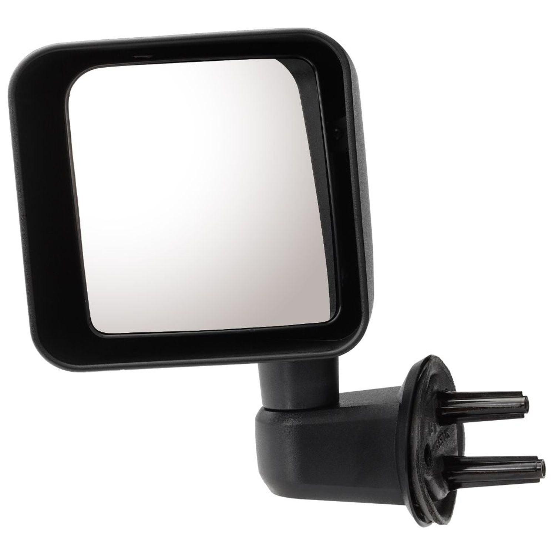 Pilot JP0394100L - Driver Side Manual View Mirror (Non-Heated, Foldaway)