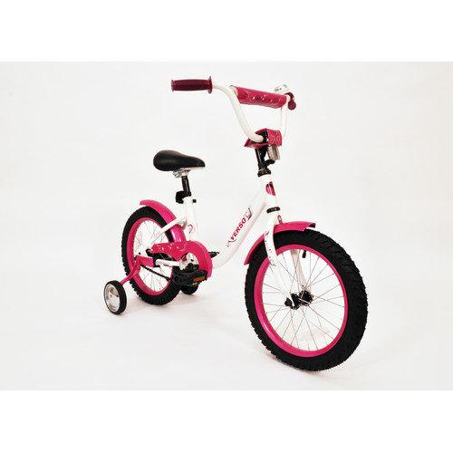Kettler USA Girl's 16'' Verso Starlet Bike with Training Wheels