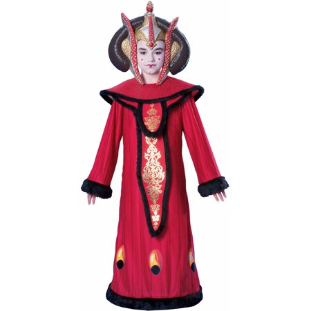 Star Wars Deluxe Queen Amidala Child Halloween Costume - Star Wars Amidala Costumes