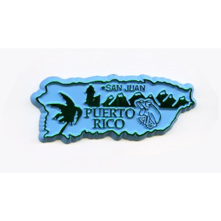 Puerto Rico United States Territory Fridge Magnet (Puerto Rico Souvenirs)