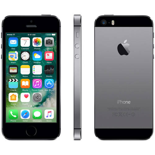 Straight Talk Apple iPhone 5s 16GB Prepaid Smartphone, Space Gray