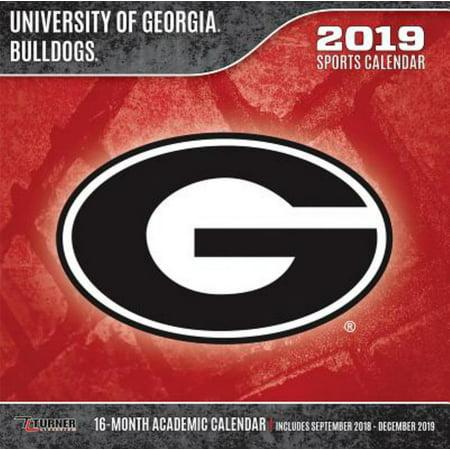 Georgia Bulldogs 2019 Calendar (Georgia Bulldog Tattoos)