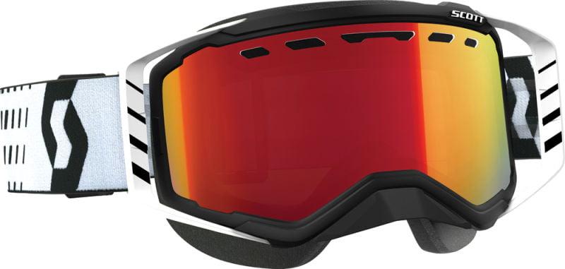 Goggle Prospect Snow Black White A Mp Red Chrome Lens Sx Blkwht by SCOTT Sports
