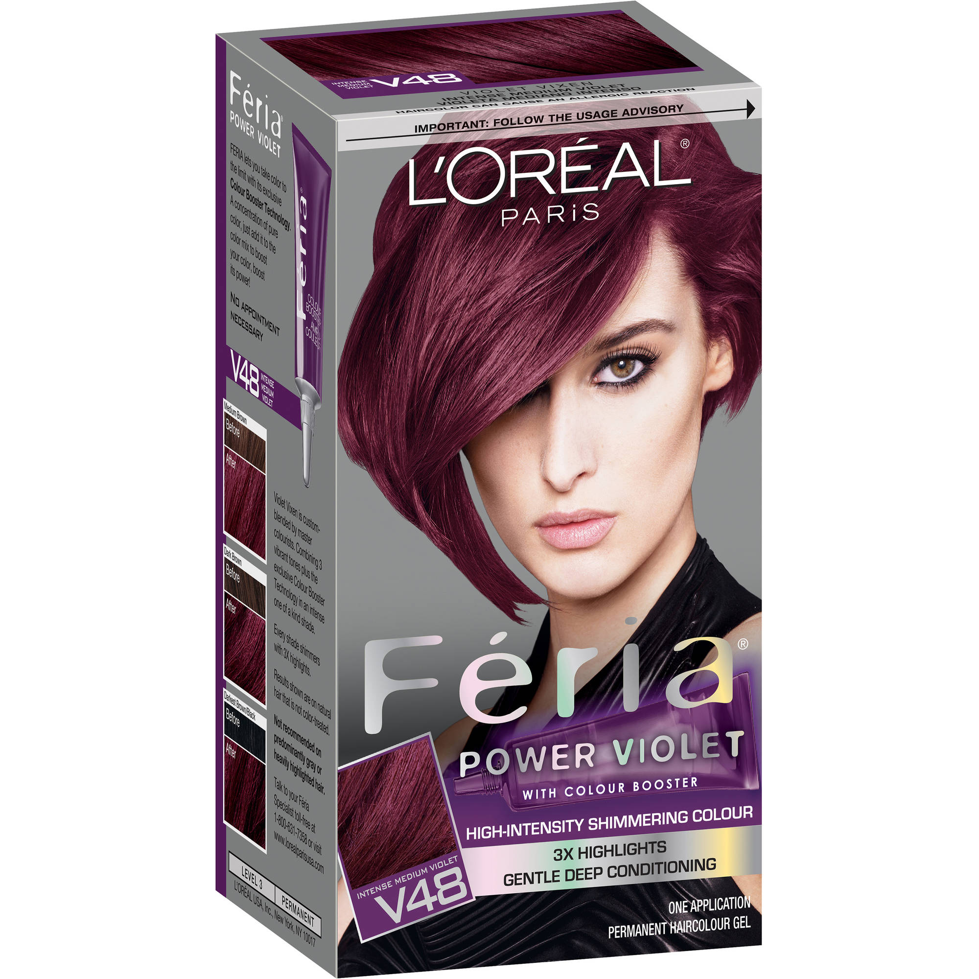 L'Oreal Paris Feria Power Shades Haircolor