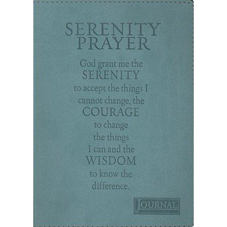 Serenity Prayer Journal Aa Serenity Prayer