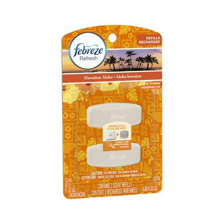 Procter & Gamble 45001 Set & Refresh Refill, Hawaiian Aloha Scent, 2-Ct.