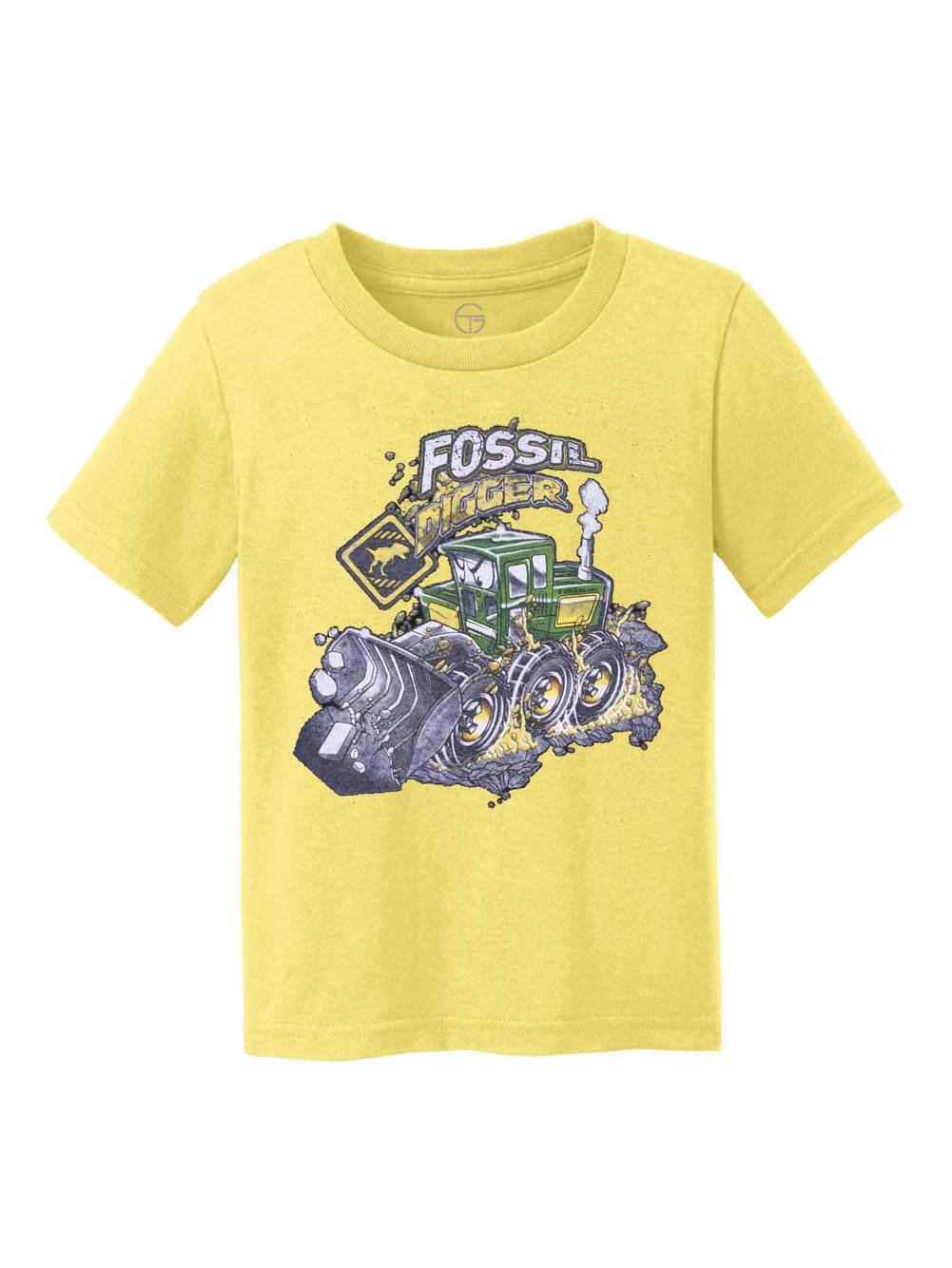 Fossil Digger Youth Cotton T-Shirt