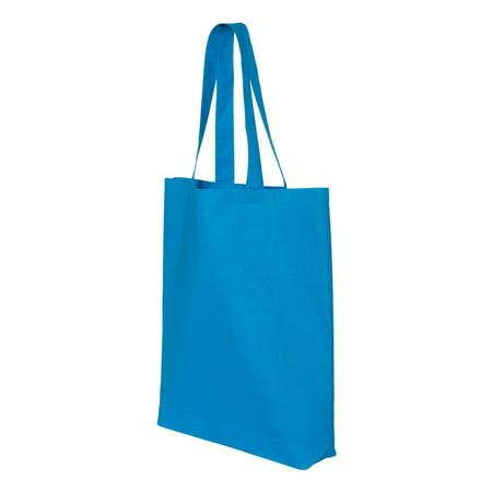 Q-Tees - 11.7L Economical Gusseted Tote (Gold Chain Shoulder Bag)