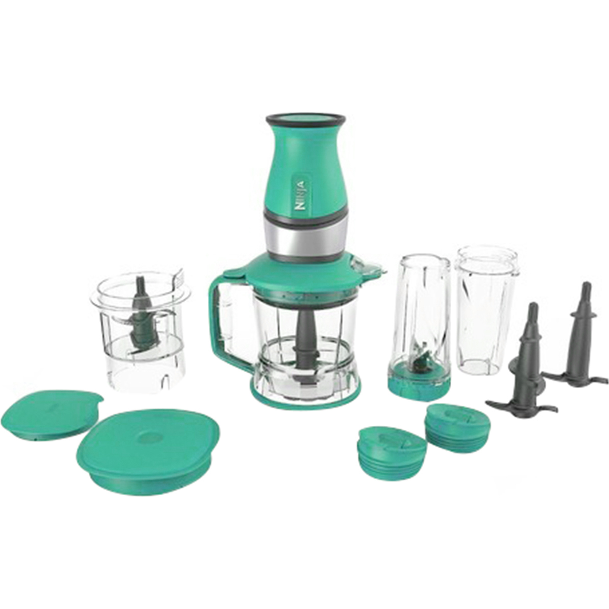 Refurbished Nutri Ninja 700W 2-in-1 Blender and Processor, QB3000