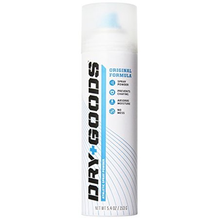 Dry Goods - Best Athletic Spray Powder Great to Absorb Moisture & Sweat - 5.4