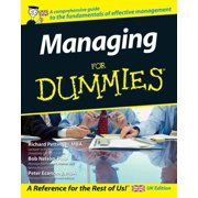 Managing For Dummies - eBook
