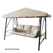Garden Winds Replacement Canopy Top for RUS473C Swing - BEIGE COLOR
