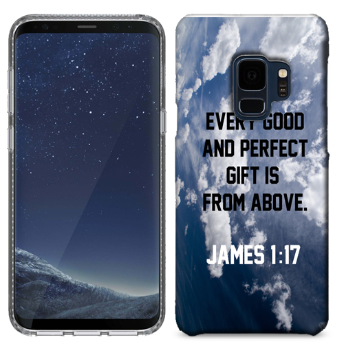 MUNDAZE Gift from Above Case Cover For Samsung Galaxy S9