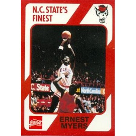 Ernest Myers Basketball Card (N.C. North Carolina State) 1989 Collegiate Collection