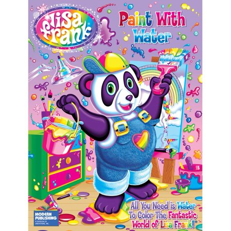 Kappa Books Publishers Llc Kappa Publication 115373 Lisa Frank Paint With Water Color Book