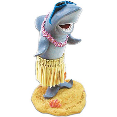 "KC Hawaii Mini Shark with Sunglasses Mini Dashboard Doll 3.75"" - image 1 of 1"