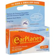 Best Ear Plugs For Small Ear Canals - EarPlanes Ear Plugs Kid's Small Size 1 Pair Review