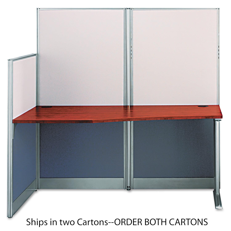 Bush Straight Workstation (Box 2 of 2) Office-in-an-Hour, Hansen Cherry