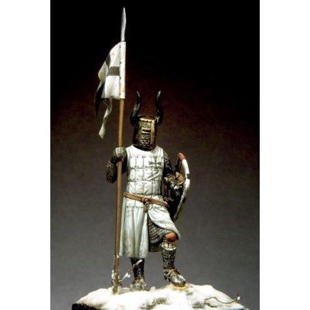 Order Metal - Pegaso Models 54mm Grand Master of Teutonic Order 13.c Metal Figure Kit #54-161