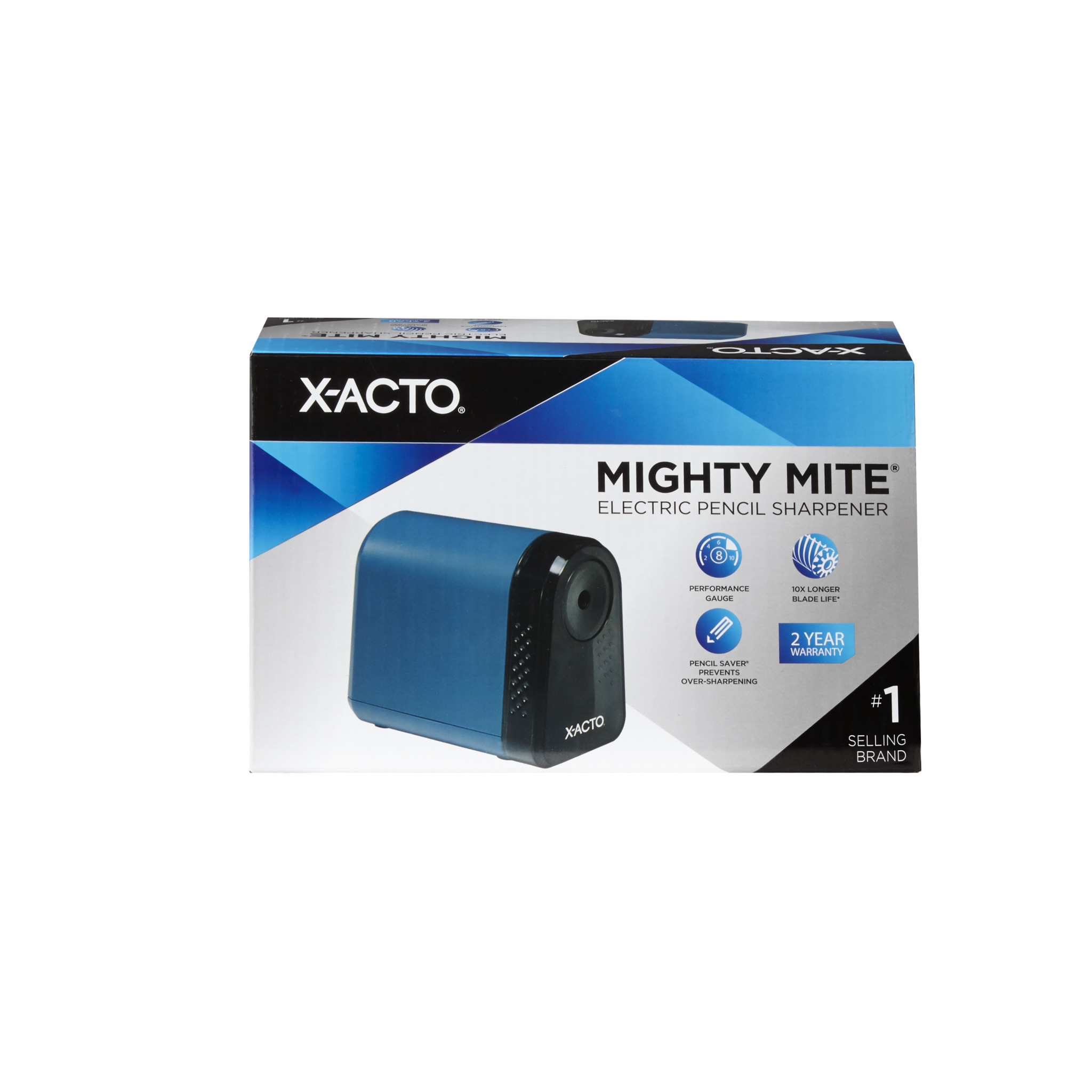 X-ACTO Mighty Mite Desktop Electric Pencil Sharpener, Mineral Green