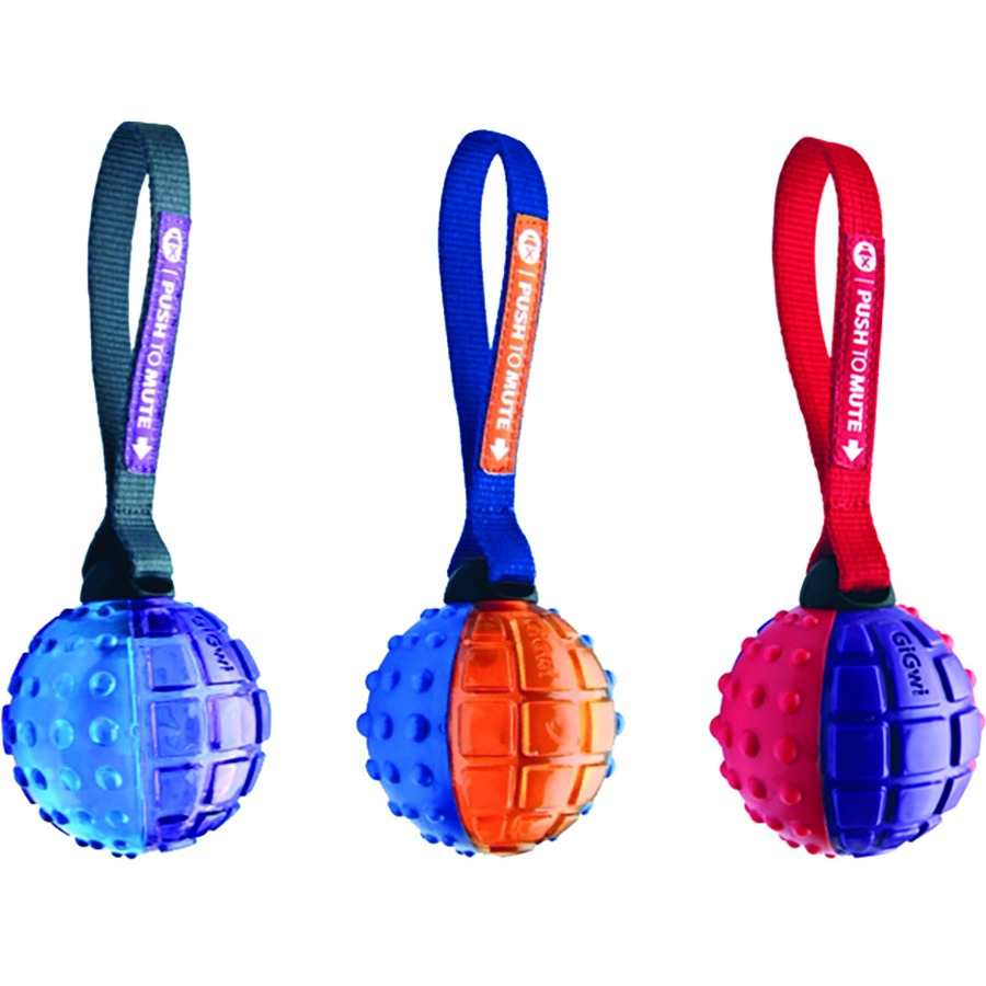 """Ethical Products Push to Mute Ball W/strap 3"""""""