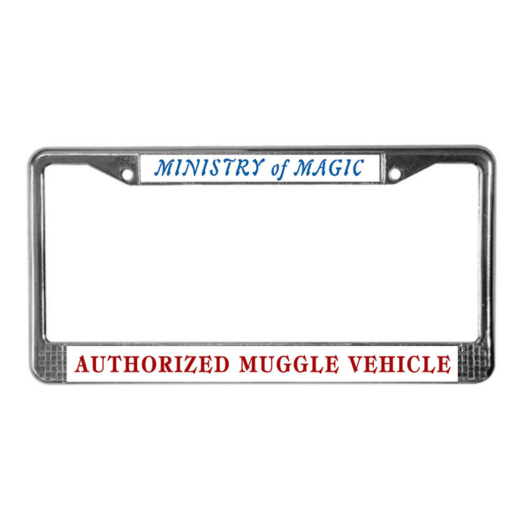 image relating to Printable License known as MINISTRY of MAGIC Approved MUGGLE Auto Printable