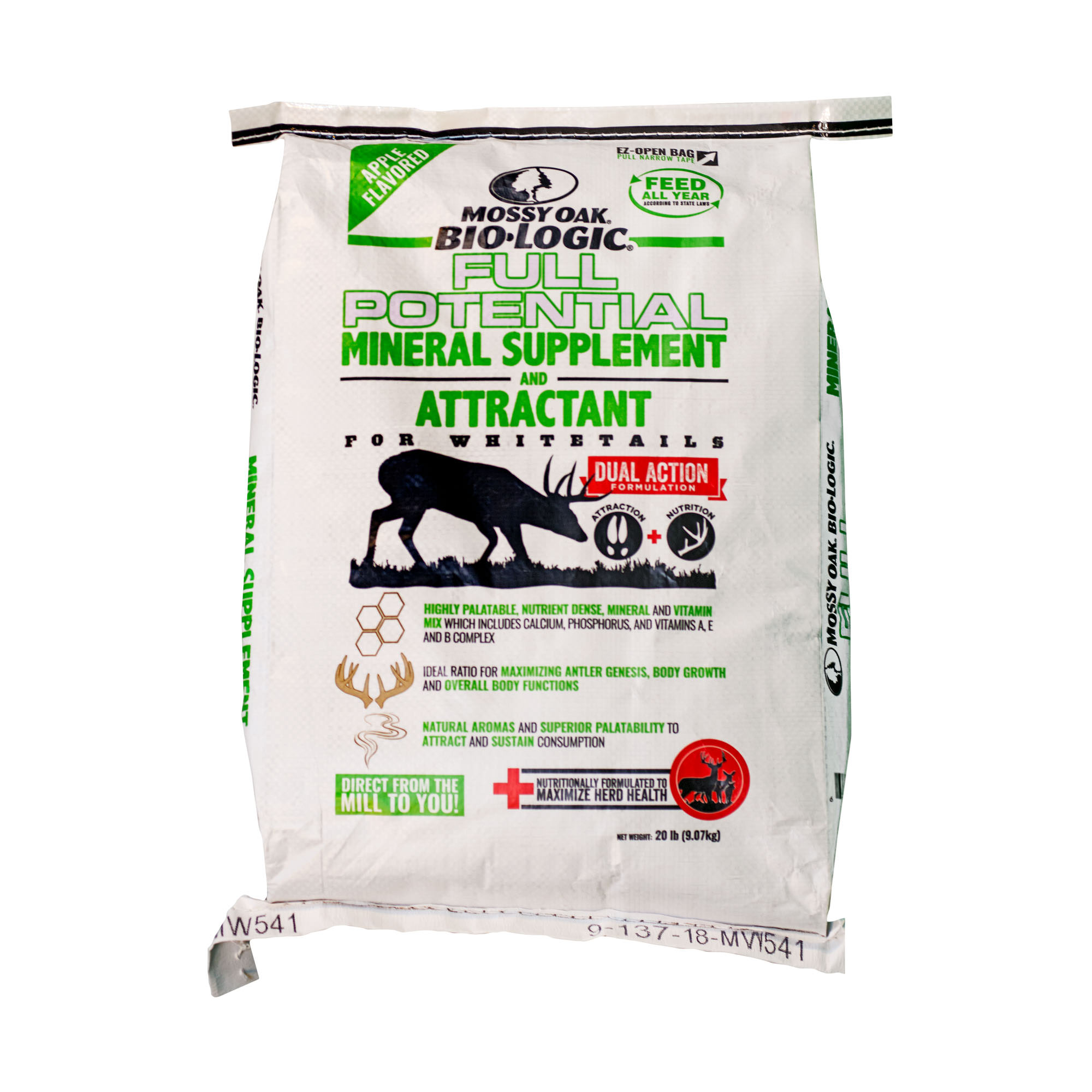 Mossy Oak BioLogic Full Potential Deer Attractant and Mineral