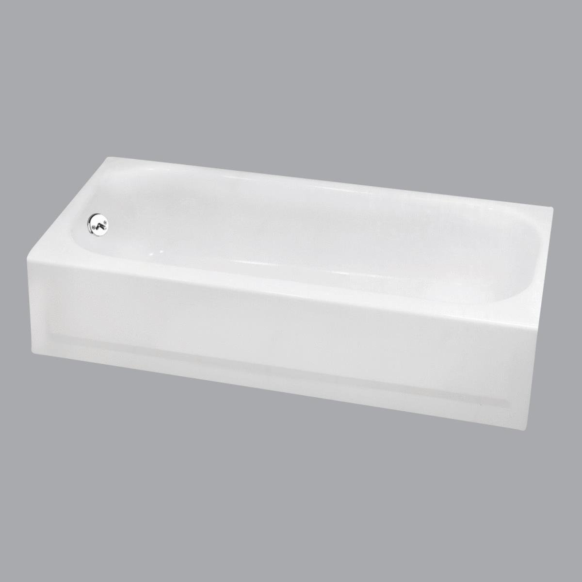 BRIGGS Porcelain Enameled Steel Bathtub