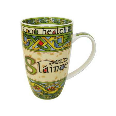 Slainte China Mug - Irish Weave