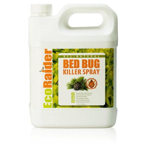EcoRaider EB1RM5001G Bed Bug Killer Spray By EcoRaider 1 Gallon, All-Natural and Non-Toxic