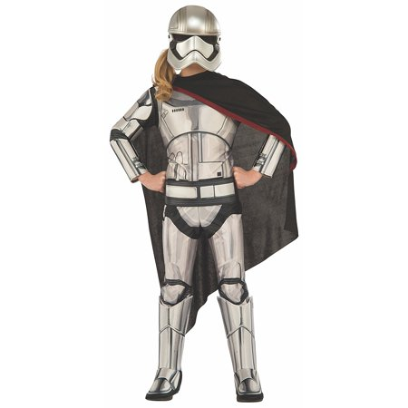 Different Kinds Of Halloween Costumes (Costume Star Wars Episode VII: The Force Awakens Deluxe Captain Phasma Child Costume, Small, NOTE: Costume sizes are different from clothing sizes; review the.., By)
