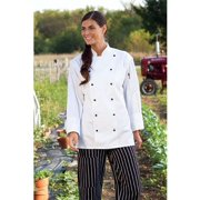 0438-2509 Naples Cheft Coat in White - 5XLarge