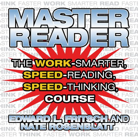 Master Reader - Audiobook READ LESS, REMEMBER MORE! Do you get bogged down with memos and email at the office? Is there never enough time for those books you've bought to get ahead? Are you always falling behind with your work, your studies, or even just your newspaper and magazine subscriptions? For years, speed-reading techniques have been reserved mostly for people who can afford the investment of an expensive course. But now you can learn to read faster in the privacy of your own home-without having to mortgage that home to pay for it! The highly effective techniques in MASTER READER will cut your reading time in half-or more-while dramatically increasing your recall and understanding of everything you read. Drawing on years of research and experience, the reading experts who developed MASTER READER have created a reading program that really works. Rather than teaching only one or two techniques, MASTER READER teaches you how to: Read faster than you ever thought possible - in any environment Eliminate wasteful, non-productive reading time Remember more of what you read-and be able to recall it immediately Shift gears and increase comprehension for those especially difficult reading tasks Listen, speak and write better, whatever the situation Zip through the mountains of printed and electronic information you have to deal with every day Make your reading time faster, smarter and more enjoyable with MASTER READER!