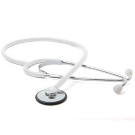 Classic Stethoscope Proscope™ 660 White 1-Tube 21 Inch Tube Single Sided Chestpiece - Diaphragm Only
