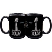 NFL 2011 Super Bowl Logo 15 ounce Mug, Black