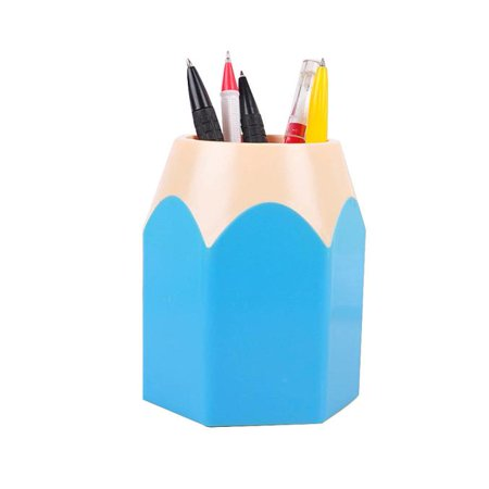 New Creative Pencil Tip Design Pen Pencil Holder Office Home Makeup Brush  Pot Cabinet Desk Pencil