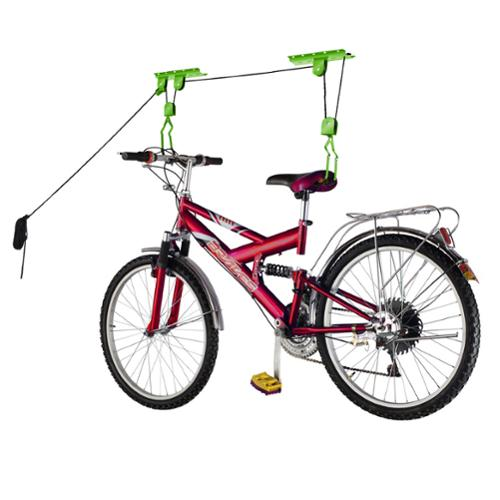 Bike Lane Bicycle Garage Storage Lift Bike Hoist 100LB Capacity Heavy Duty