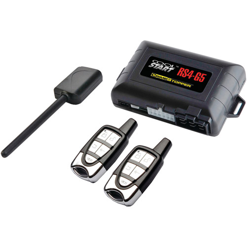 Crimestopper RS4-G5 Cool Start 1-Way Remote Start and Keyless Entry System with Trunk Pop