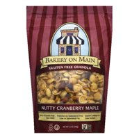 Bakery on Main Gluten Free Nutty Cranberry Granola, 12 OZ (Pack of 6)