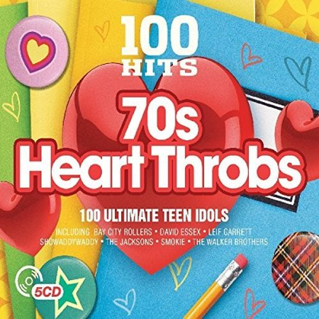 100 Hits: 70s Heartthrobs / Various (CD) - Disco In The 70s