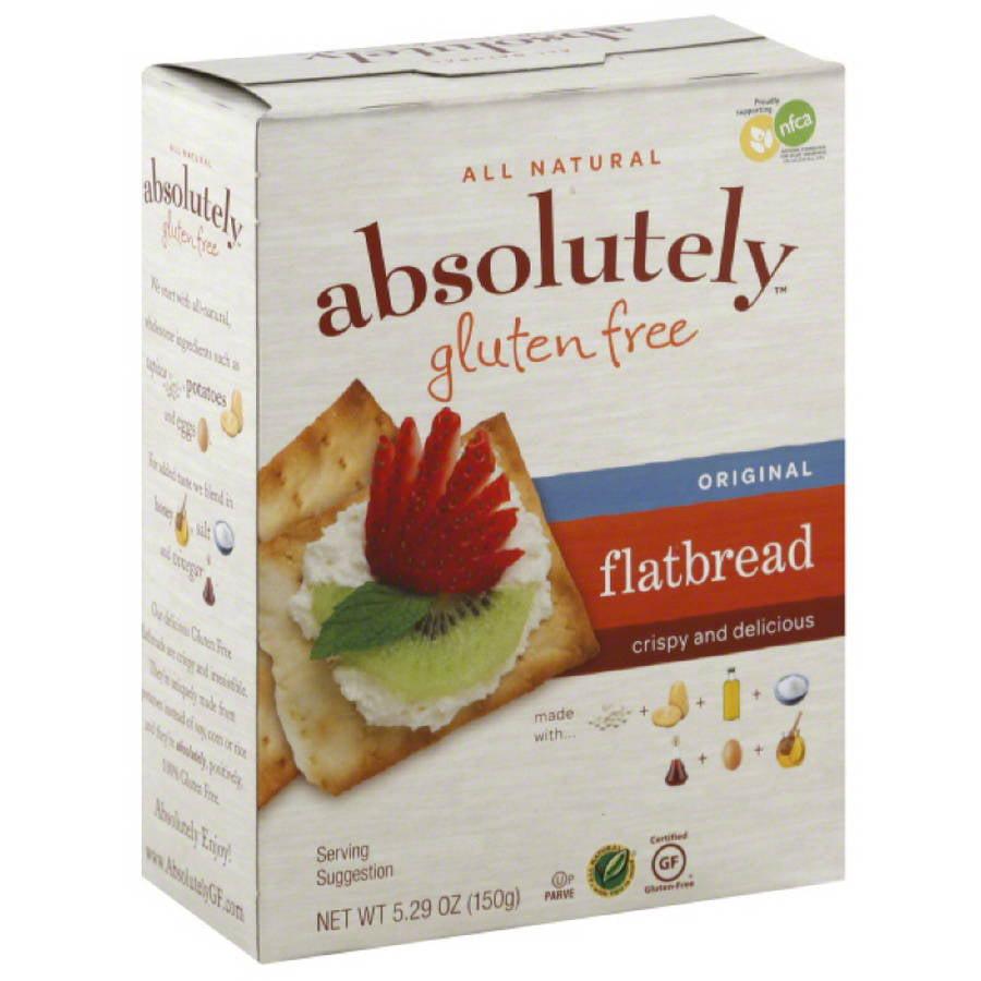 Absolutely Gluten Free Original Flatbread, 5.29 oz, (Pack of 3)