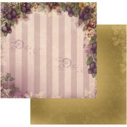 "Hearts Ease Double-sided Paper 12""x12""-orchard Delight - Case Pack Of 5"