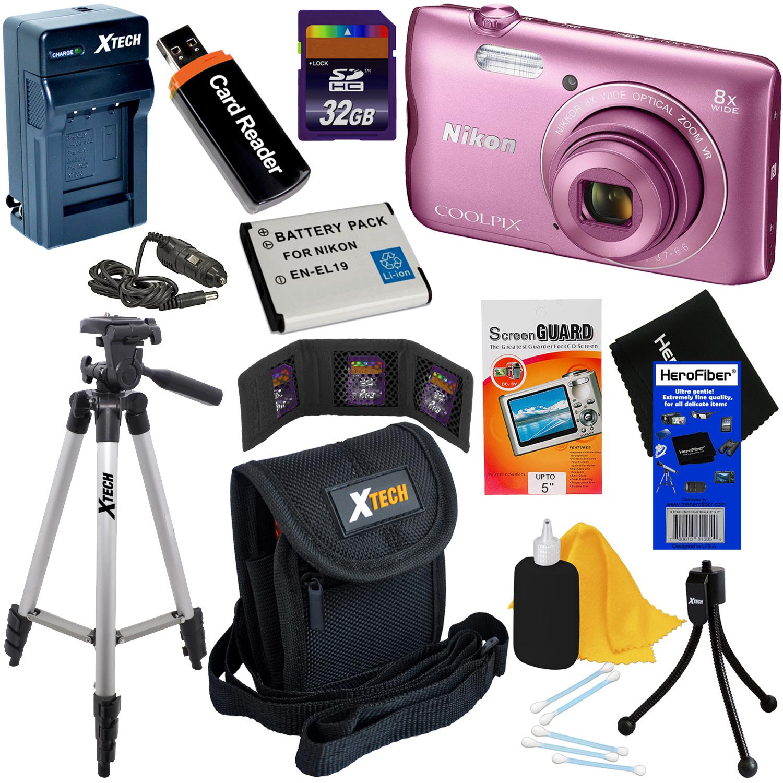 Nikon COOLPIX A300 20.1MP Digital Camera with 8x Zoom Len...