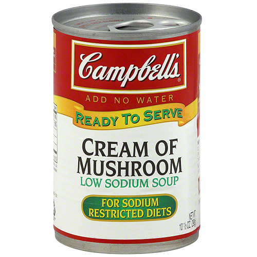 Campbell's Ready To Serve Cream Of Mushroom Soup, 10.5 oz (Pack of 12) by Campbell's