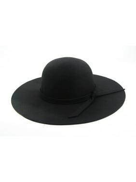 Women Felt Wide Floppy Hat 953