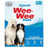 Four Paws XL Wee-Wee Pads, 27.5 in x 44 in, 18 count