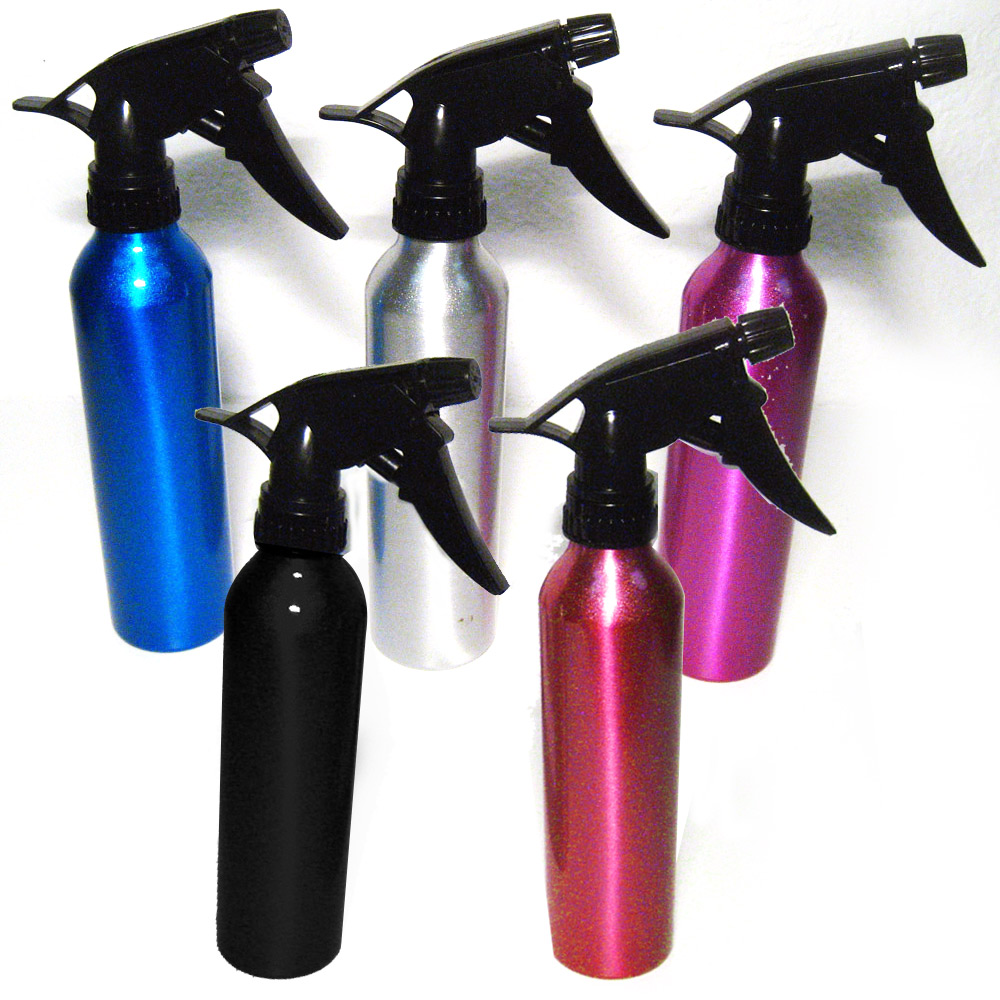 3 Aluminum Spray Bottle Water Empty Atomizer Mist Perfume Hair Care Salon Home