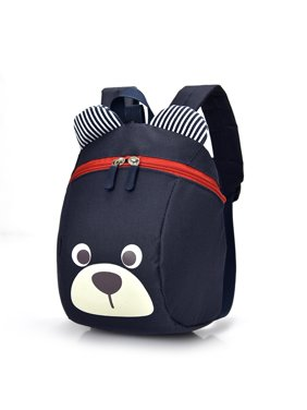 Product Image Cute Cartoon Bear Backpack Kids Toddler Backpack Boys Girls Kindergarten  School Bag (Navy Blue) 17c9152aedec3