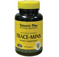 Trace Mins Nature's Plus 180 Tabs